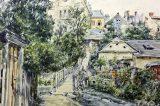 Z muzejních sbírek: Obrazy impozantní synagogy / fotogalerie / Obraz Jana Pinkavy z roku 1912, foto: archiv MKZ Hranice