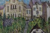Z muzejních sbírek: Obrazy impozantní synagogy / fotogalerie / Obraz Oty Holase z roku 1968, foto: archiv MKZ Hranice