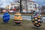Velikonoční výzdoba zkrášluje centrum Hranic / fotogalerie / Obří kraslice z dílny zkušených výtvarníků a malířů, foto: Jiří Necid