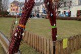 Velikonoční výzdoba zkrášluje centrum Hranic / fotogalerie / Velikonoční výzdoba na prostranství před zámkem, foto: Kateřina Macháňová