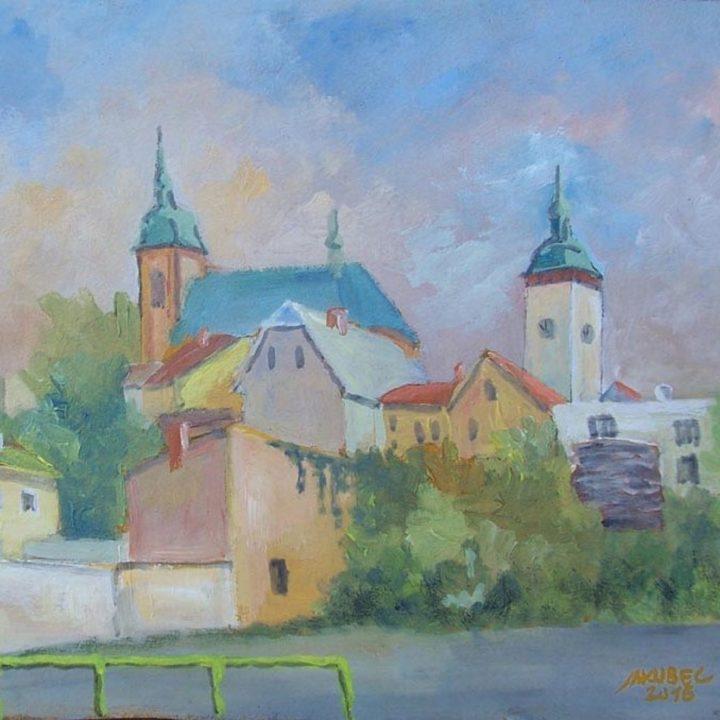Vernisáž k výstavě Jaroslava Jakubce