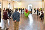 Květiny Ivana Komárka prozařují synagogu / fotogalerie / Výstava Ivana Komárka - Barvy květin, foto: Jiří Necid